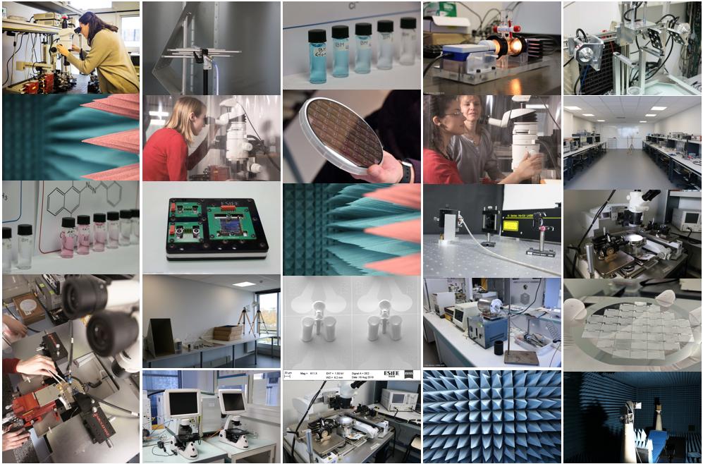 ESYCOM Lab research patchwork
